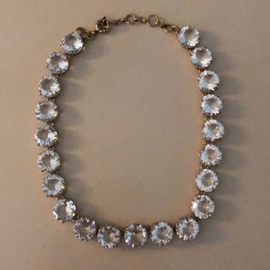 JCREW Diamond Gem Necklace
